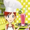 Кулинарный класс Сары: Фруктовый коктейль (Sara'a cooking class Fruit Smoothie)