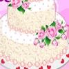 Свадебный торт с розами (Rose Wedding Cake)