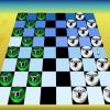 Настольная игра: Шашки (Checkers board game)