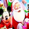 Микки и Санта в Рождество (Mickey and Santa Christmas)