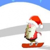 Санта-сноубордист (Santa snow boards)