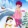 Наряд для снежной прогулки (Plating in the Snow Dress Up)