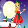 Красивая рождественская девушка (Beautiful Christmas Girl)