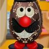 Украсить шоколадное яйцо (Egg Chocolate Decoration)