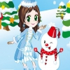 Принцесса и снеговик (A princess and a snowman)