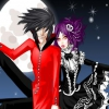 Одеваем вампирскую пару