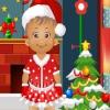 Наряд для маленькой Дейзи на СОчельник (Little Daisy Christmas eve)