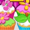 Кексы с цветами (Flower Garden Cupcakes)
