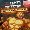 Рудольa спасает мир (Metal Xmax Santa Rockstar Rudolf Save the world)