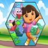 Пазлы: Даша (Dora fix the puzzle)