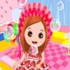 Пузыри: Одеть ребенка (Baby Bubbles Dress Up)