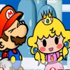 Супер Марио: Снегопад (Super Mario snowing)
