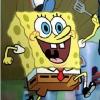 Губка Боб: Приготовить гамбургеры (Sponge Bob in the kitchen preparing hamburgers)