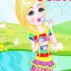 Девочка с пузырями (Bubble Girl dress up)