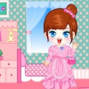 Милая девушка в комнате (Cute room girl dress up)
