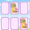 Веселые карты с девушкой (Cheerful girl matching)