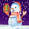 Симпатичный снеговик (Cute SnowManress Up)