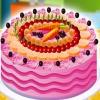 Украшение торта с фруктами (Cake with fruits. Decoration)