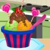 Украшение сладкого мороженого (Sweet Ice Cream Decoration)