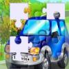 Синяя машинка