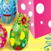 Пасхальные украшения из шоколада (Easter Chocolate Makeup)