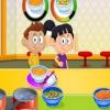 Приготовление лапши (Cooking noodles)