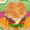Приготовление большого бургера (Cooking big burger)