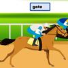 Печать: Конный забег (Horse Racing Typing)