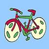 Раскраска: Спортивный байк (Fast spor bike coloring)