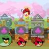 Злые птички: Поделить яйца (Angry birds share eggs)