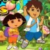 Собрать фрукты ( Dora Pick Fruits)