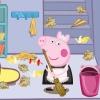 Свинка Пеппа: Уборка комнаты ( Little Pig. Clean room)