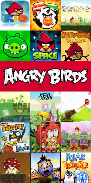 Перейти в категорию «Angry Birds»